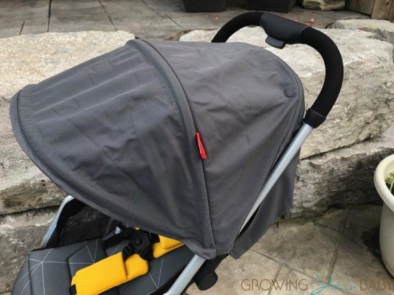 Diono Traverze Super-Compact Stroller - canopy