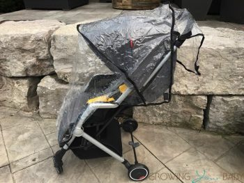 Diono Traverze Super-Compact Stroller - ran cover