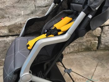Diono Traverze Super-Compact Stroller - recline