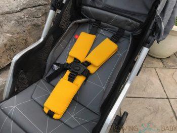 Diono Traverze Super-Compact Stroller - seat