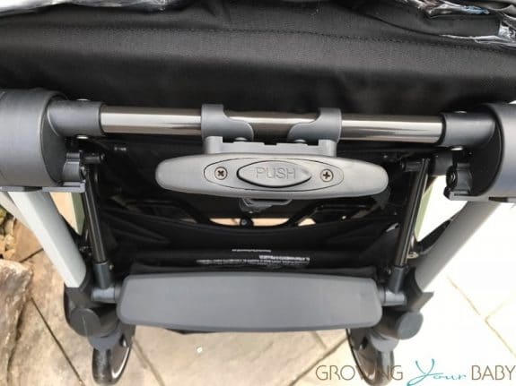 Diono Traverze Super-Compact Stroller - telescopic handle