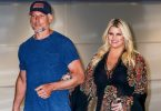Jessica Simpson lands in NY with husband Eric Johnson after revealing she's pregnant F