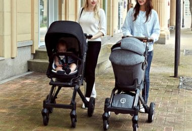 Orbitbaby G5 stroller 2018 - bassinet and stroller seat
