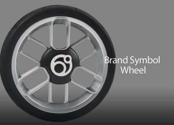 Orbitbaby G5 stroller wheel