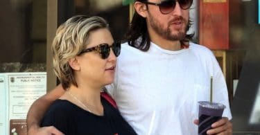 Very pregnant Kate Hudson, Danny Fujikawa step out in LA f