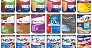 Abbott Formulated Liquid Nutrition Products