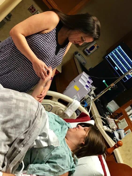 Anna and Renee McInarnay baby birth