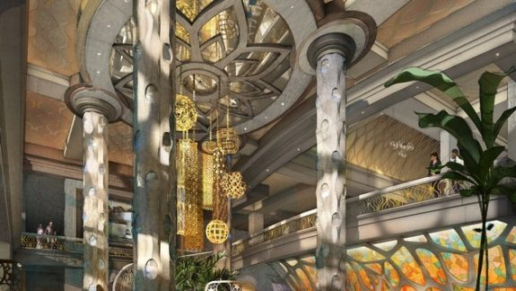 Disney's Coronado Springs Resort lobby rendering