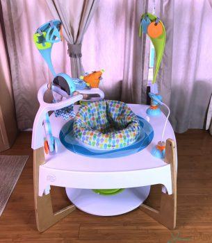 Evenflo Gleeful Sea 2 In 1 Activity Center + Art Table