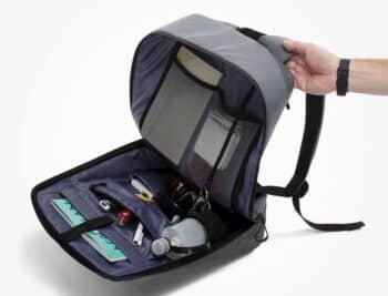 Pix Digitalized Backpack inside
