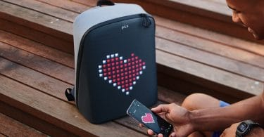 Pix Digitalized Backpack - with heart