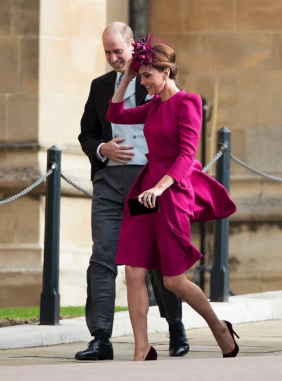 Princess Eugenies royal wedding to Jack Brooksbank - Duke and Duchess of Cambridge William and Kate