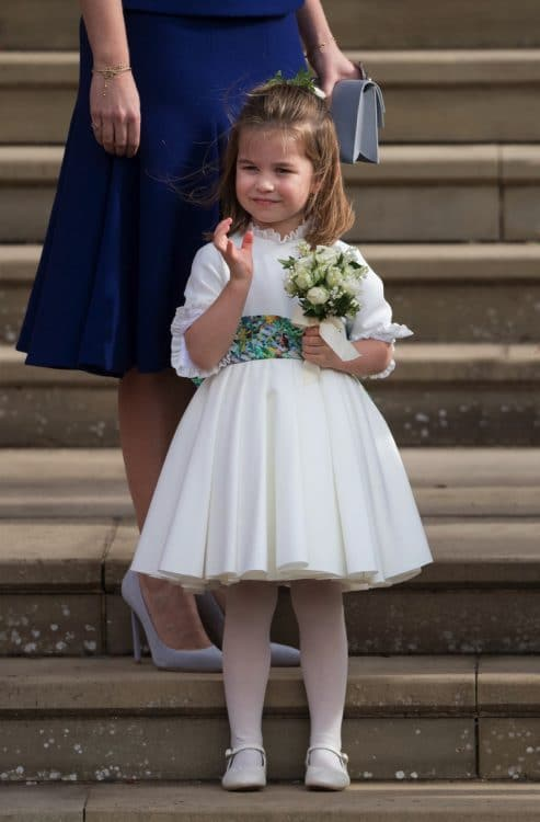 Princess Eugenies royal wedding to Jack Brooksbank - Princess charlotte