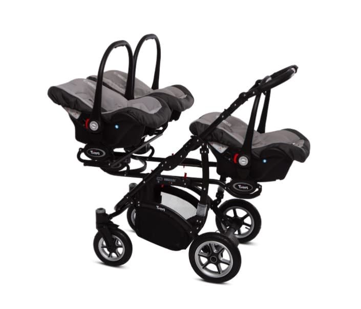 Babyactive Coolest Triple Stroller 3 Carseats Growing Your Baby