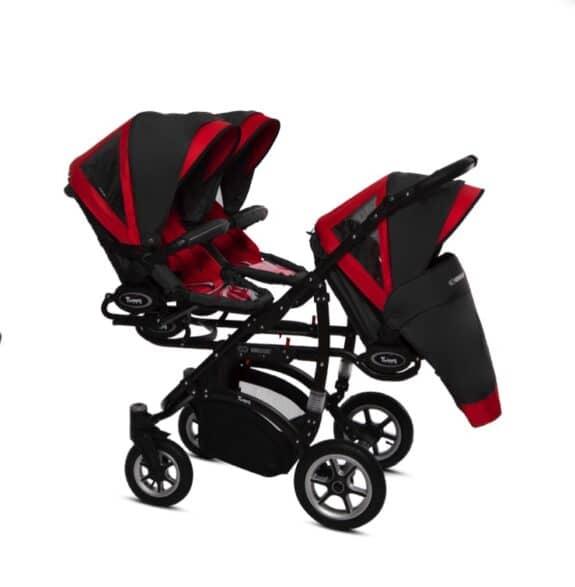 BabyActive Coolest Triple Stroller - 3 stroller seats