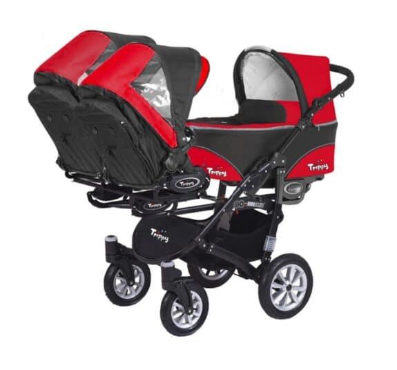 BabyActive triple stroller