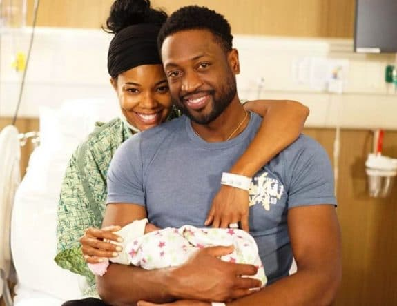 Gabrielle Union & Dwayne Wade Welcome Baby Girl VIA Surrogate