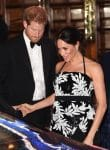Prince Harry and pregnant Meghan Markle attend The Royal Variety Performance 2018