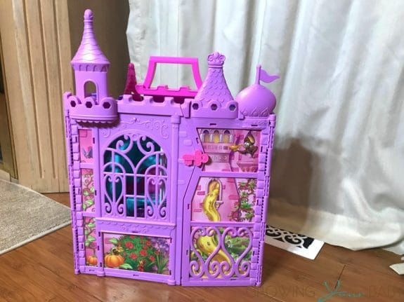Disney Princess' Pop-Up Palace - folded up