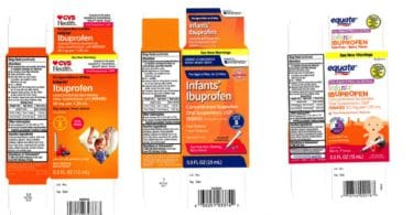Infant's Liquid Ibuprofen Recalled at Walmart, CVS, And Family Dollar