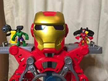 REVIEW -Marvel Superheroes Ironman Headquarters