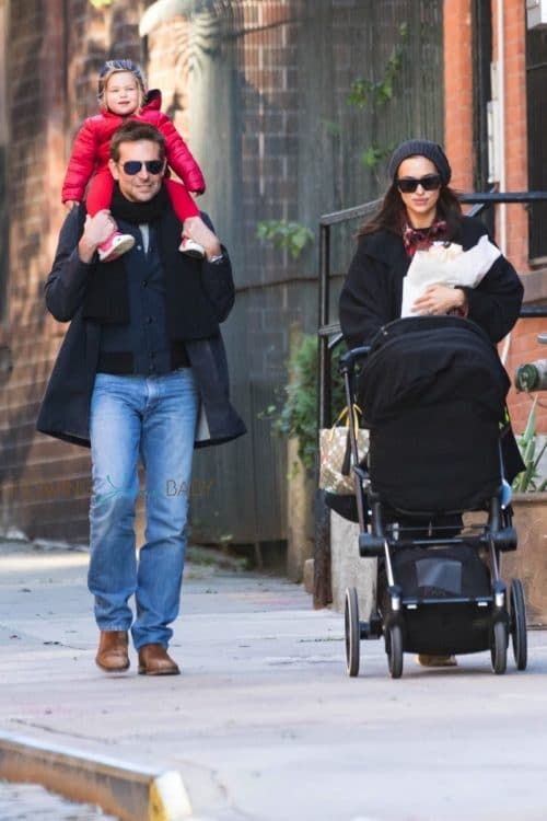 Bradley Cooper Piggy Backs His Little Lady in NYC
