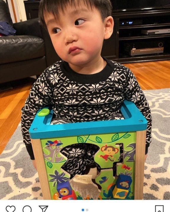 Police Rescue Toddler Who Got Stuck In Activity Cube Toy