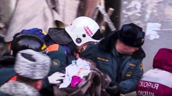 Russian baby rescued after nearly 36 hours in frozen rubble