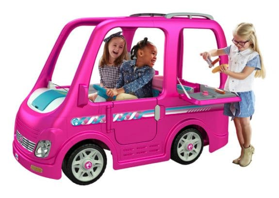 Recall - 44,000 Power Wheels Barbie Campers Due to Injury Hazard