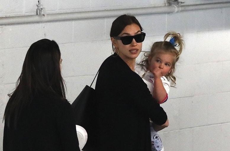 Irina Shayk Takes Her Little Cutie To Kidville