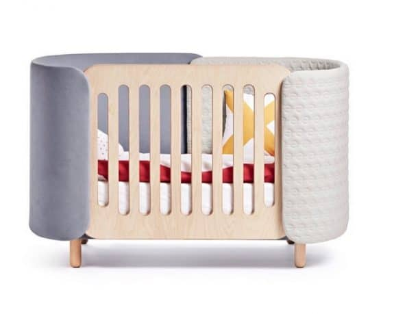 dot and cross hug crib