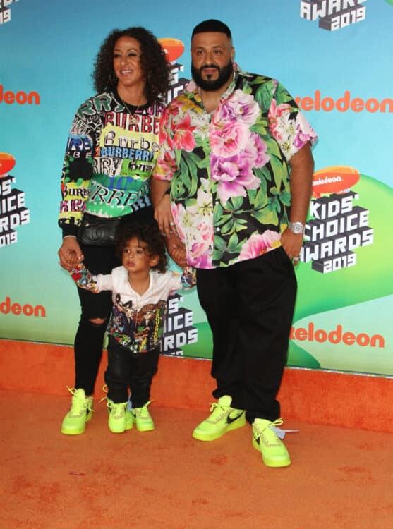Nickelodeon Kids Choice Awards 2019 -  DJ Khalad with wife Nicole Tuck and son Asahd