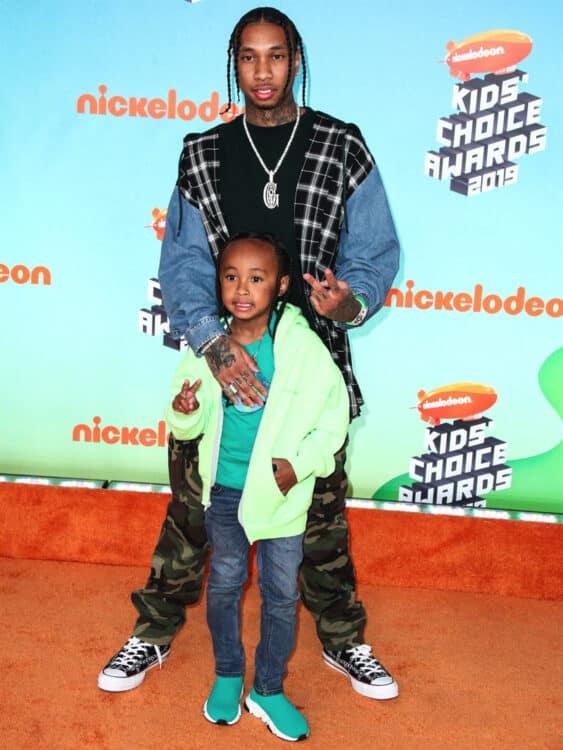 Nickelodeon Kids Choice Awards 2019  King Cairo Stevenson, Tyga