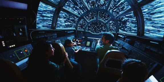 Star Wars Galaxys Edge – Millennium Falcon Smugglers Run