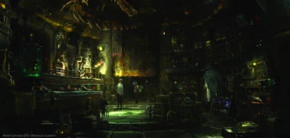 Star Wars Galaxys Edge Dok-Ondars Den of Antiquities