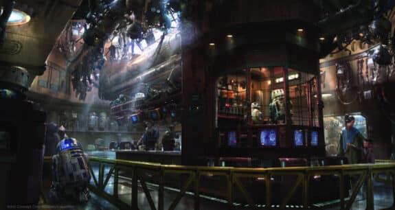 Star Wars Galaxys Edge - droid depot