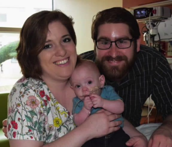 Tiny 11 Ounce Baby Connor Joins Family At Home