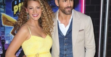Blake Lively debuts baby bump at the premiere of 'Pokemon' with Ryan Reynolds f