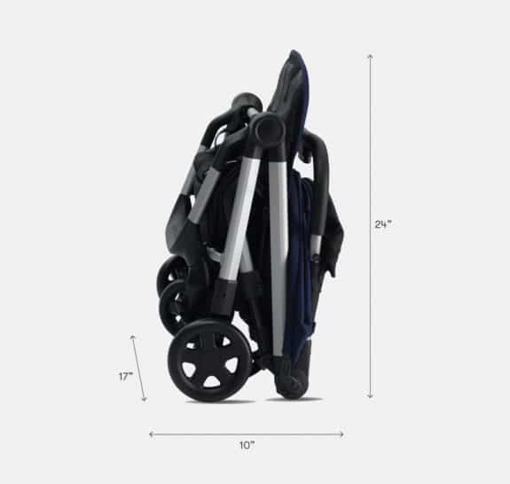 Colugo Compact Stroller -folded