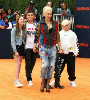 Kingston Rossdale, Gwen Stefani, Zuma Nesta Rock Rossdale at UGLY dolls premiere