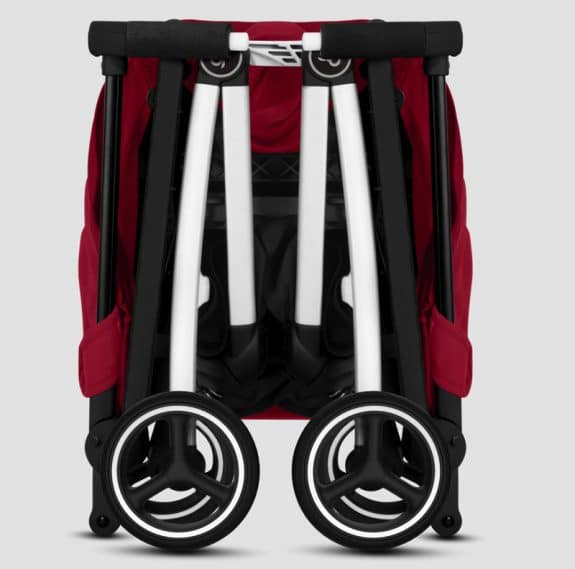 Pockit plus All-City ultra compact stroller - folded