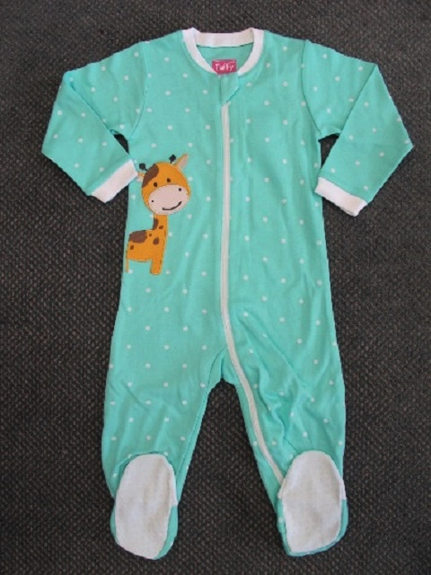 RECALL: 96,286 Tuffy Infant Sleepers From Costco Due To