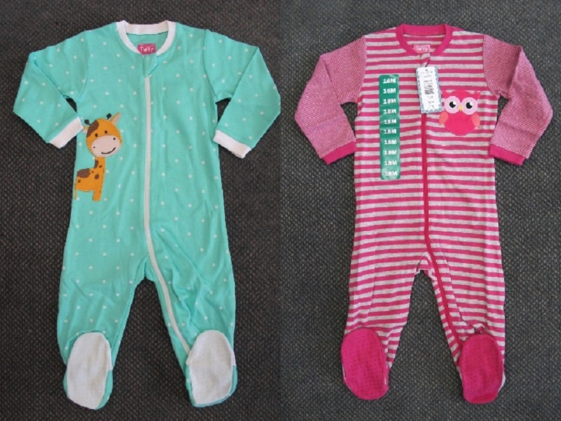 RECALL - 96,286 Tuffy Infant Sleepers From Costco Due To Flammability Hazard f