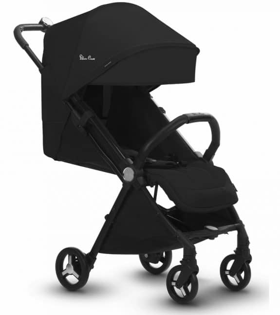 Silver Cross Jet Ultra Compact Stroller - reclined