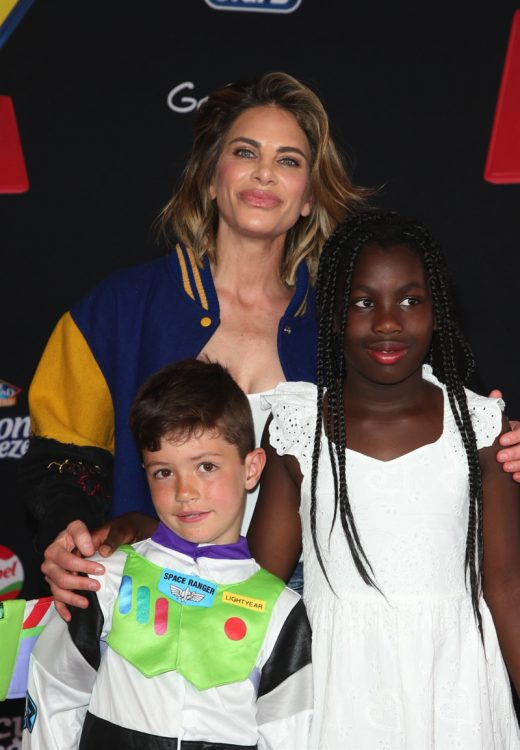 Jillian Michaels, Phoenix Michaels Rhoades, Lukensia Michaels Rhoades at Toy Story 4 premiere