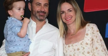 Jimmy Kimmel, William Kimmel, Jane Kimmel, Molly McNearney at Toy Story 4 premiere