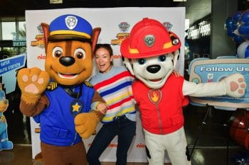 Olivia Wilde at paw patrol event