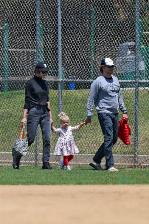 Bradley Cooper and Irina Shayk take their daughter to a park in Pacific Palisades