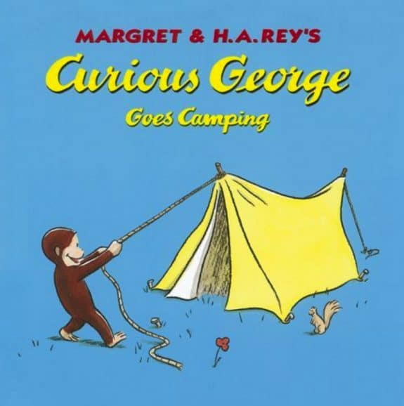 Curious George Goes Camping by Margret & H.A. Rey