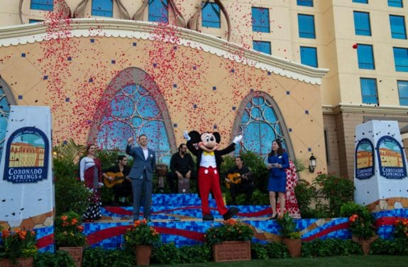 New Gran Destino Tower at Coronado Spring Walt Disney World - grand opening